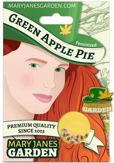 Green Apple Pie Feminized Marijuana Seeds