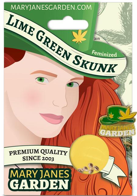 Lime Green Skunk Feminized Marijuana Seeds